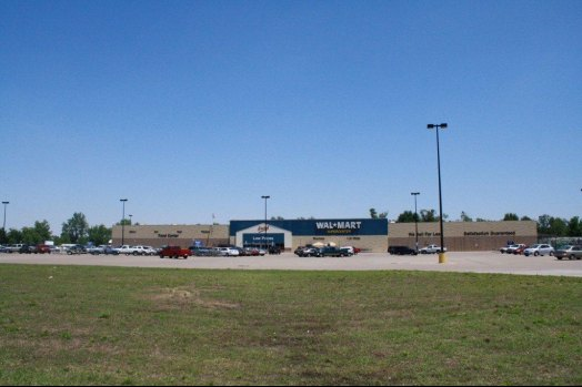 Our local Walmart on Industrial Drive, easily accessible from HIghway 63