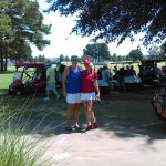 Players in the wild duck classis golf tournament
