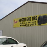 northend tire sign