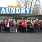 24 hour laundry ribbon cutting
