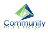 community title and escrow logo