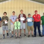 winners of duck calling contest at 2017 wild duck festival