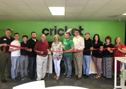 Ribbon Cutting for Cricket Wireless