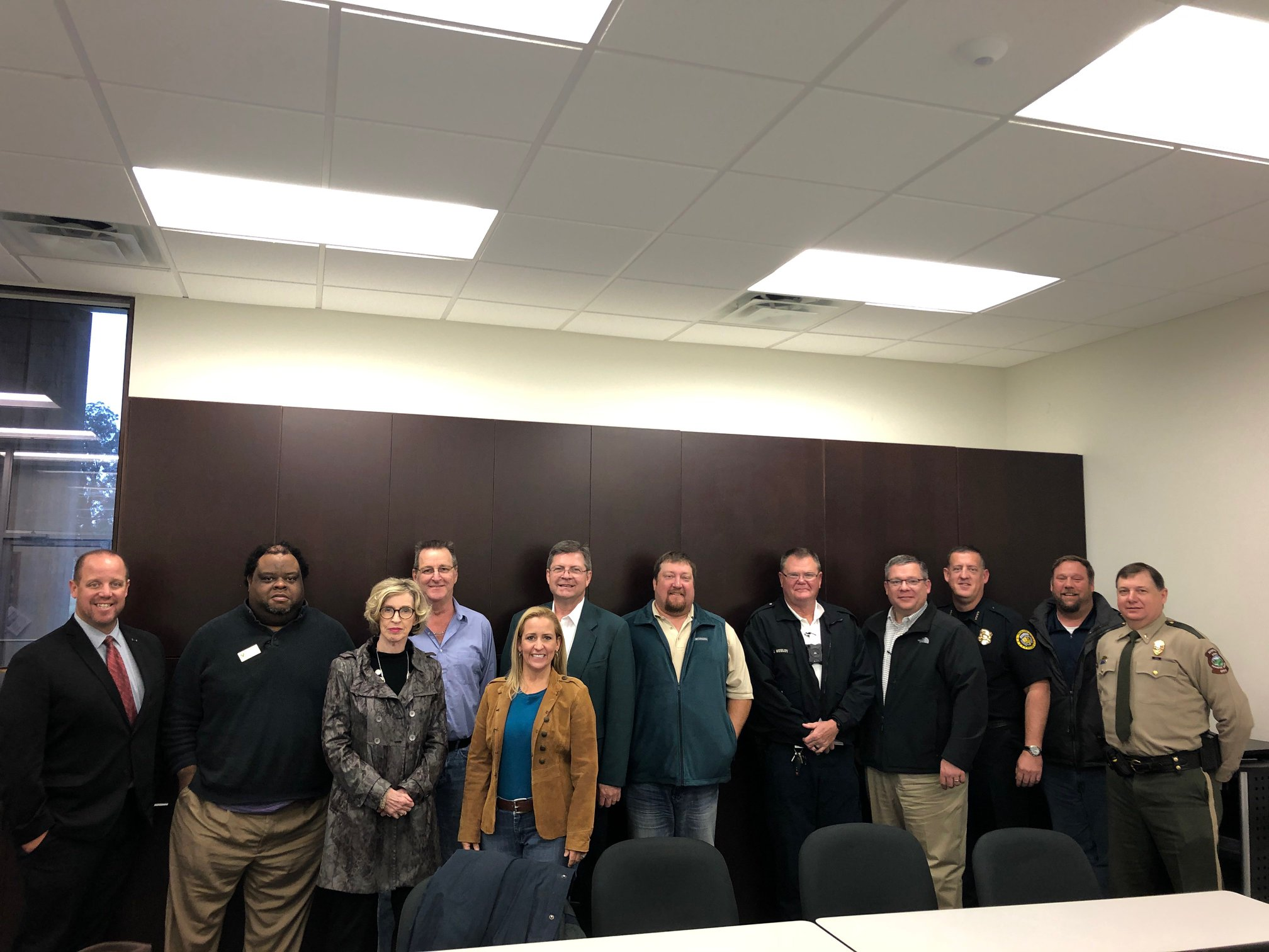 Arkansas Attorney General Leslie Rutledge with Poinsett County focus group