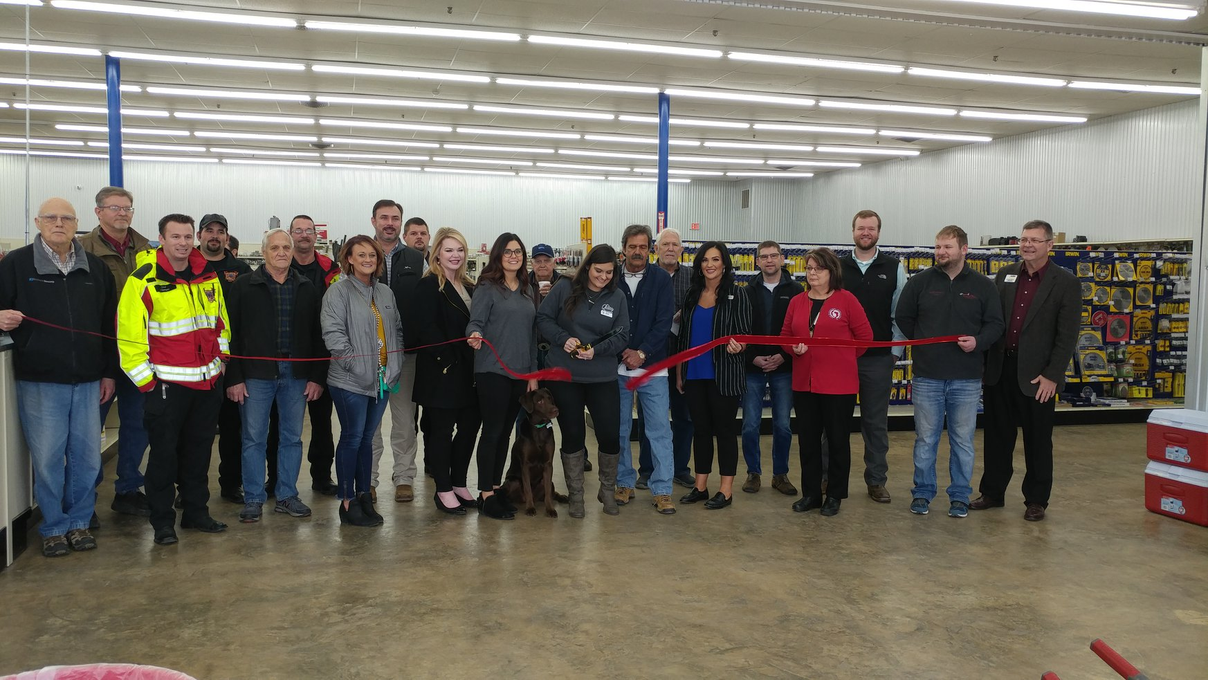 Quality Farm Supply Ribbon Cutting